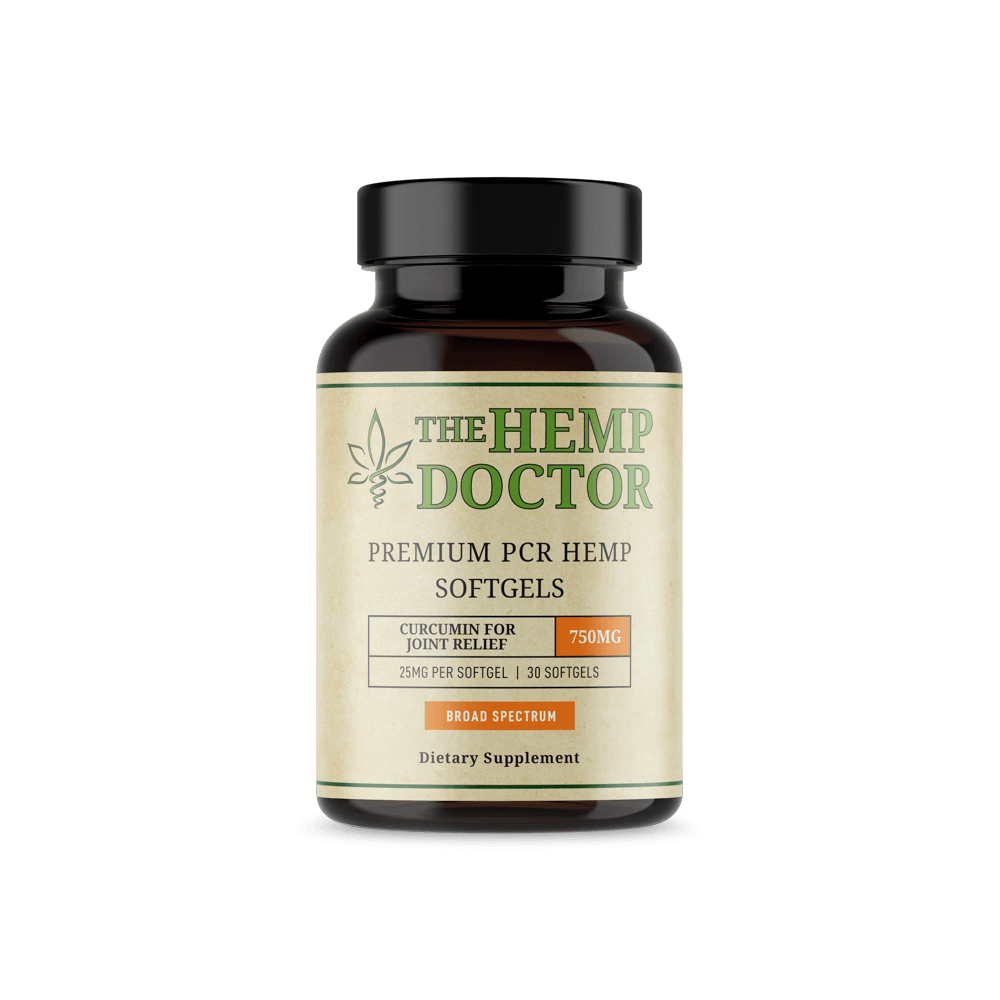 The Hemp Doctor Softgels Curumin