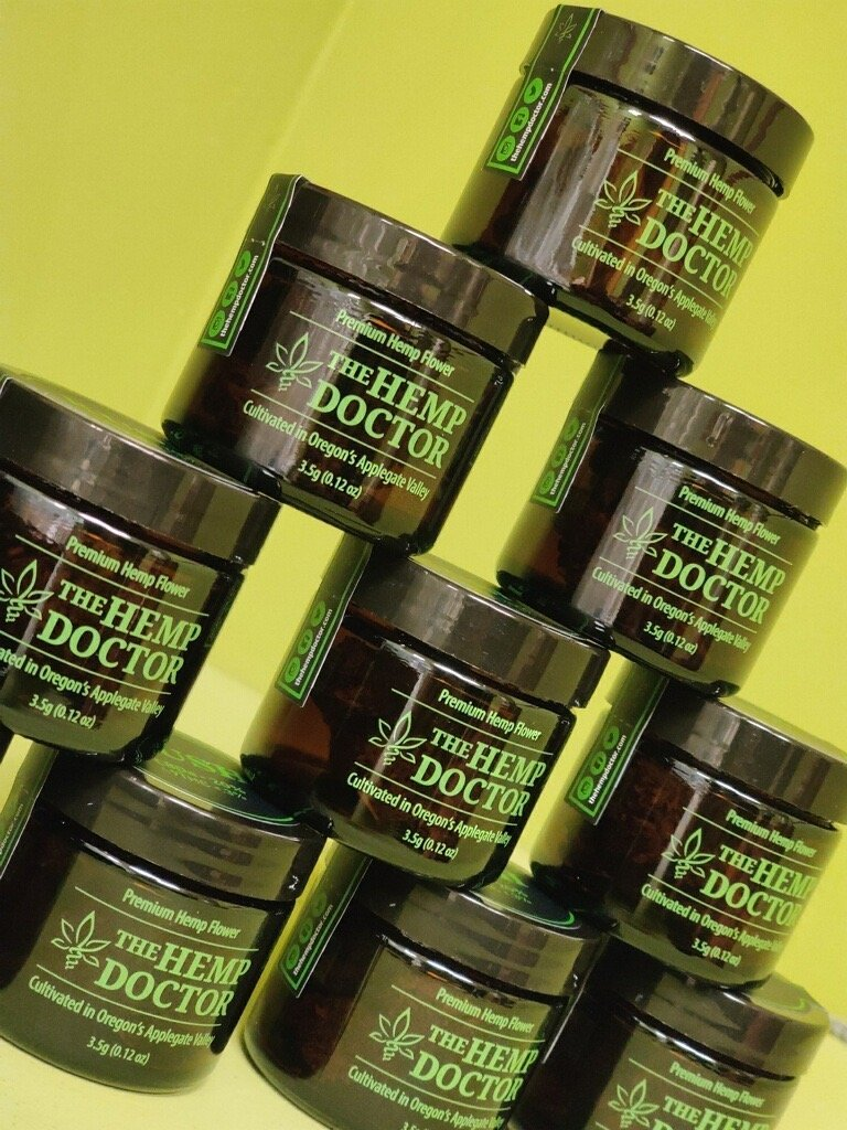 The hemp doctor excellent products stock up.