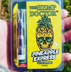 D8 vape cart Pineapple Express