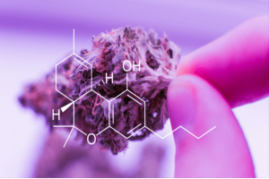 A type of THC known as Delta-8 used as product.
