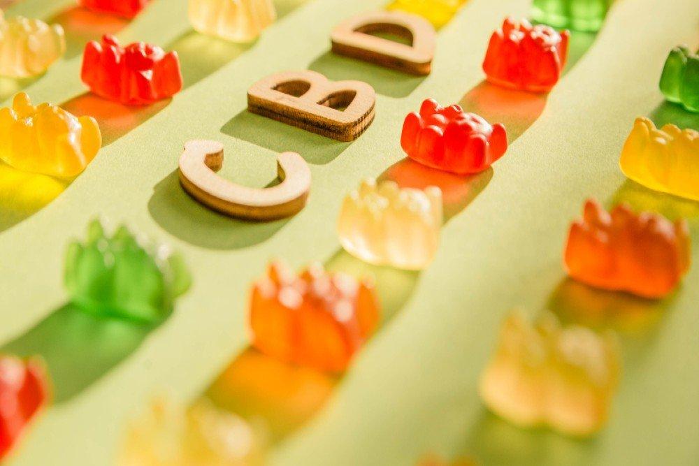 gummy bears with cbd