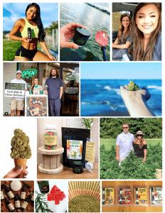 Snapshots of our CBD affiliate/influencer team