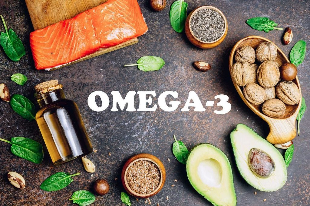 Food items with omega 3